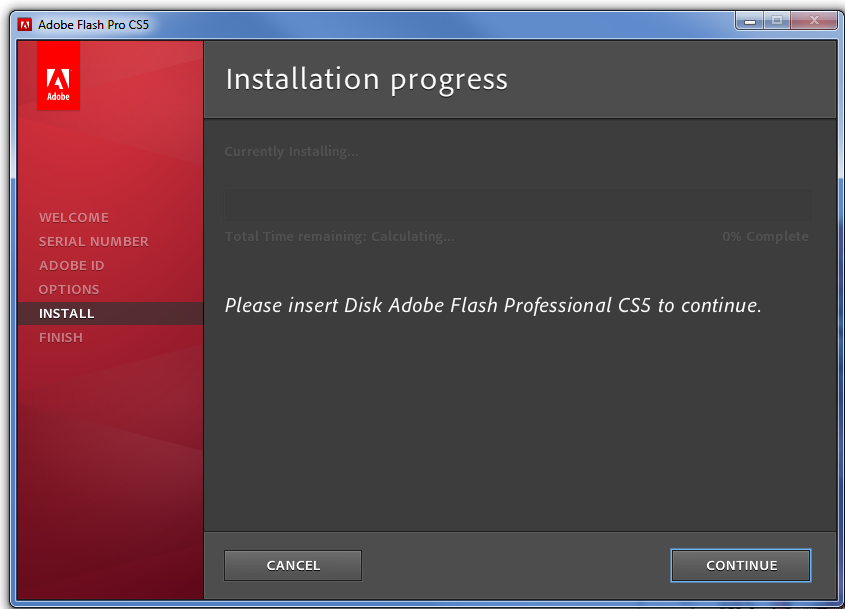 Adobe Installation Woes – Please Insert Adobe Media To Continue